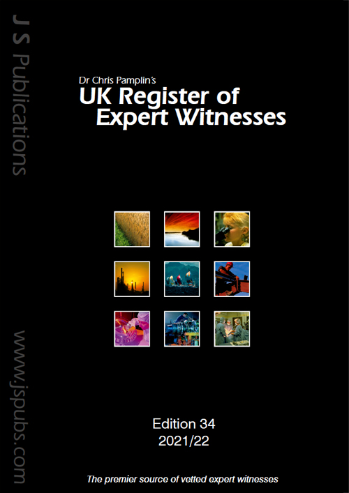 UK Register of Expert Witnesses