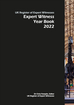 Expert Witness Year Book cover